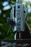 Ράβοντας μηχανή Στοκ Φωτογραφία
