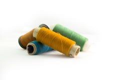 ράβοντας νήματα Στοκ φωτογραφία με δικαίωμα ελεύθερης χρήσης