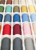 ράβοντας νήμα Στοκ Φωτογραφία