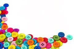 Ράβοντας πλαίσιο κουμπιών Στοκ εικόνες με δικαίωμα ελεύθερης χρήσης