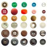 ράβοντας τρύγος συλλογής κουμπιών Στοκ φωτογραφία με δικαίωμα ελεύθερης χρήσης