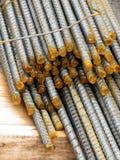 ράβδοι σιδήρου κατασκε& Στοκ φωτογραφία με δικαίωμα ελεύθερης χρήσης