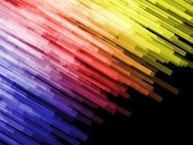 Ράβδοι χρώματος γωνίας Στοκ εικόνα με δικαίωμα ελεύθερης χρήσης