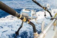 Ράβδος θαλασσινού νερού και στενός επάνω εξελίκτρων Στοκ Εικόνες