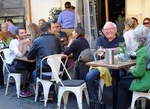 Ράβδος καφέ στη Ρώμη Στοκ φωτογραφία με δικαίωμα ελεύθερης χρήσης
