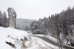 Ράβδος Hercules στο Pieskowa Skala (Πολωνία) Στοκ φωτογραφία με δικαίωμα ελεύθερης χρήσης