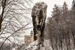 Ράβδος Hercules στο Pieskowa Skala (Πολωνία) Στοκ εικόνες με δικαίωμα ελεύθερης χρήσης