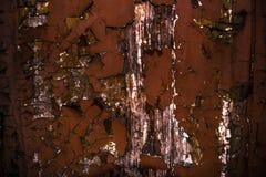 ράβδων εστίαση που αφήνεται τη βαθύτερη τη σύσταση σκουριάς υπολοίπου Στοκ Φωτογραφίες