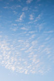 Ράβδωση σύννεφων Στοκ εικόνες με δικαίωμα ελεύθερης χρήσης
