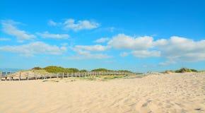 Ράγα χεριών και άμμος Στοκ Φωτογραφίες