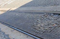 Ράγες καροτσακιών Στοκ φωτογραφία με δικαίωμα ελεύθερης χρήσης