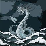 Δράκος θάλασσας Στοκ Εικόνες