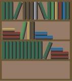 ράφι βιβλίων Στοκ Φωτογραφίες