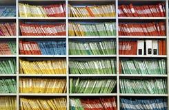 ράφι γραμματοθηκών στοκ εικόνες με δικαίωμα ελεύθερης χρήσης