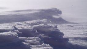 ράφι εικόνων πάγου κρυστάλλων της Ανταρκτικής που λαμβάνεται Στοκ Εικόνες