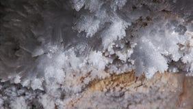 ράφι εικόνων πάγου κρυστάλλων της Ανταρκτικής που λαμβάνεται Στοκ Εικόνα