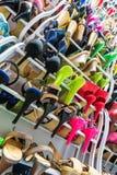 Ράφι με τα παπούτσια Στοκ Εικόνα