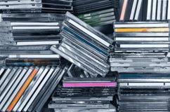 ράφι των CD Στοκ Εικόνα
