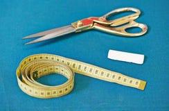 Ράφτης ή ράβοντας εργαλεία Στοκ Εικόνες