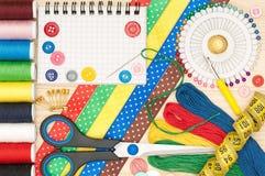 ράψιμο εξαρτημάτων Στοκ φωτογραφίες με δικαίωμα ελεύθερης χρήσης