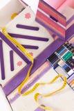 ράψιμο εξαρτημάτων Στοκ Φωτογραφία