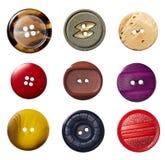ράψιμο ιματισμού κουμπιών Στοκ εικόνες με δικαίωμα ελεύθερης χρήσης