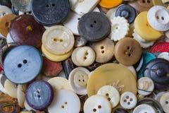 ράψιμο κουμπιών ανασκόπηση Στοκ Εικόνες