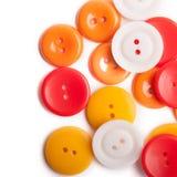 ράψιμο κουμπιών Στοκ Εικόνες