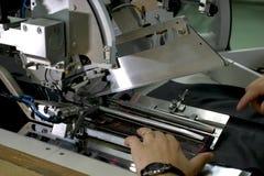 ράψιμο μηχανών χεριών Στοκ Εικόνες