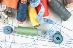ράψιμο σχεδίου εξαρτημάτ&omega Στοκ εικόνες με δικαίωμα ελεύθερης χρήσης