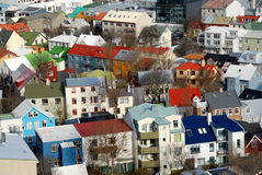 Ρέικιαβικ Στοκ εικόνα με δικαίωμα ελεύθερης χρήσης