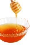 ρέοντας μέλι λεπτομέρεια&si Στοκ φωτογραφία με δικαίωμα ελεύθερης χρήσης
