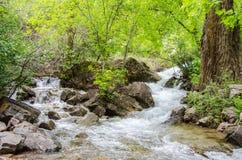 Ρέοντας νερό βουνών Στοκ φωτογραφία με δικαίωμα ελεύθερης χρήσης