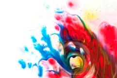 Ρέοντας χρώμα στοκ εικόνα με δικαίωμα ελεύθερης χρήσης