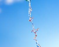 ρέοντας ύδωρ μορφών Στοκ Φωτογραφία