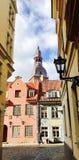 Ρήγα παλαιά πόλη Στοκ εικόνα με δικαίωμα ελεύθερης χρήσης