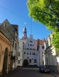 Ρήγα Πρωτεύουσα της Λετονίας Στοκ φωτογραφίες με δικαίωμα ελεύθερης χρήσης
