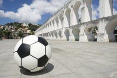 Ρίο ντε Τζανέιρο Βραζιλία ποδοσφαίρου σφαιρών Socccer Στοκ φωτογραφίες με δικαίωμα ελεύθερης χρήσης