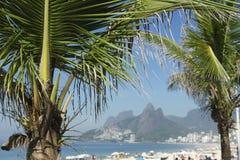 Ρίο ντε Τζανέιρο Βραζιλία Arpoador παραλιών Ipanema Στοκ Εικόνα