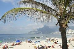 Ρίο ντε Τζανέιρο Βραζιλία Arpoador παραλιών Ipanema Στοκ Φωτογραφίες