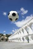 Ρίο ντε Τζανέιρο Βραζιλία Lapa ποδοσφαίρου σφαιρών Socccer Στοκ εικόνα με δικαίωμα ελεύθερης χρήσης