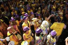Ρίο ντε Τζανέιρο καρναβάλι - Simpatia é Quase Amor Στοκ Εικόνες
