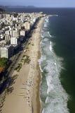 Ρίο ντε Τζανέιρο - παραλία Ipanema - Βραζιλία Στοκ Εικόνα