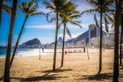 Ρίο ντε Τζανέιρο Copacabana Στοκ φωτογραφία με δικαίωμα ελεύθερης χρήσης