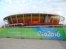 Ρίο 2016 - ολυμπιακό κέντρο αντισφαίρισης στοκ φωτογραφία με δικαίωμα ελεύθερης χρήσης