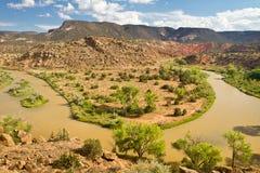 Ρίο Chama, New Mexico Στοκ εικόνα με δικαίωμα ελεύθερης χρήσης
