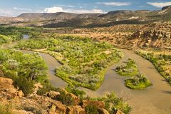Ρίο Chama, New Mexico Στοκ φωτογραφία με δικαίωμα ελεύθερης χρήσης