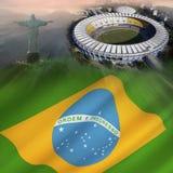 Ρίο de Jainereo - Βραζιλία διανυσματική απεικόνιση