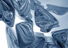 ρίχνει το levitating υδράργυρο Στοκ φωτογραφία με δικαίωμα ελεύθερης χρήσης