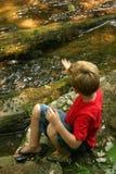 ρίψη βράχων Στοκ φωτογραφία με δικαίωμα ελεύθερης χρήσης